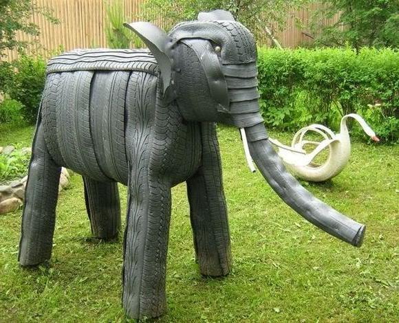 Дворовая скульптура своими руками