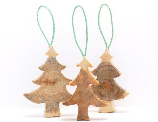 Ёлочные игрушки своими руками из дерева