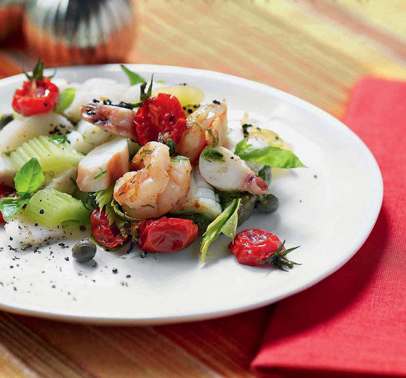 вкусные рецепты морепродуктов фото