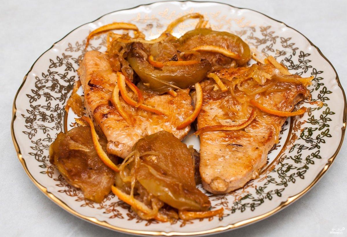 Как приготовить филе индейки на сковороде со сметаной с пошагово