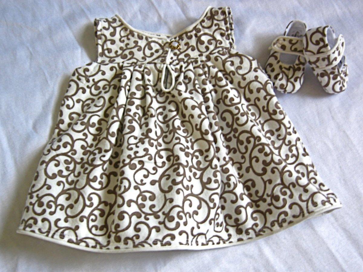 17 самых миленьких платьев для малышек со всего интернета, сшитых своими 18