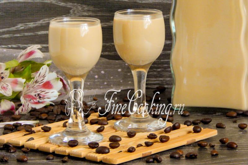 Рецепт молочный ликер в домашних условиях