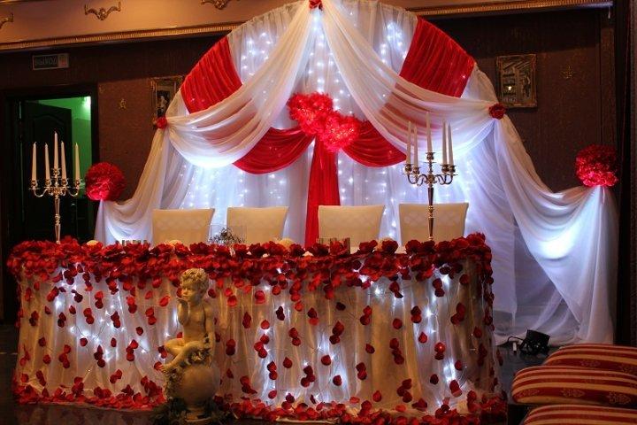 Украшение зала на свадьбу череповец