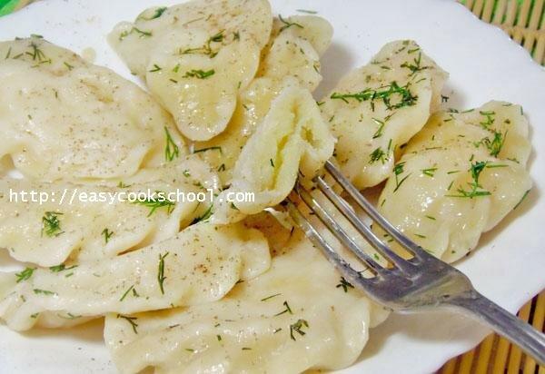 Как сделать вареники с картошкой с пошагово в