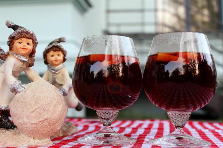 Рецепт грога с вином