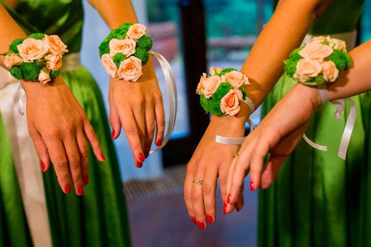 Браслет на свадьбу своими руками