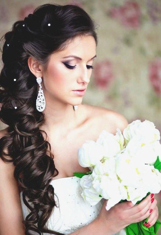 Свадебные прически для невесты кавказских невест