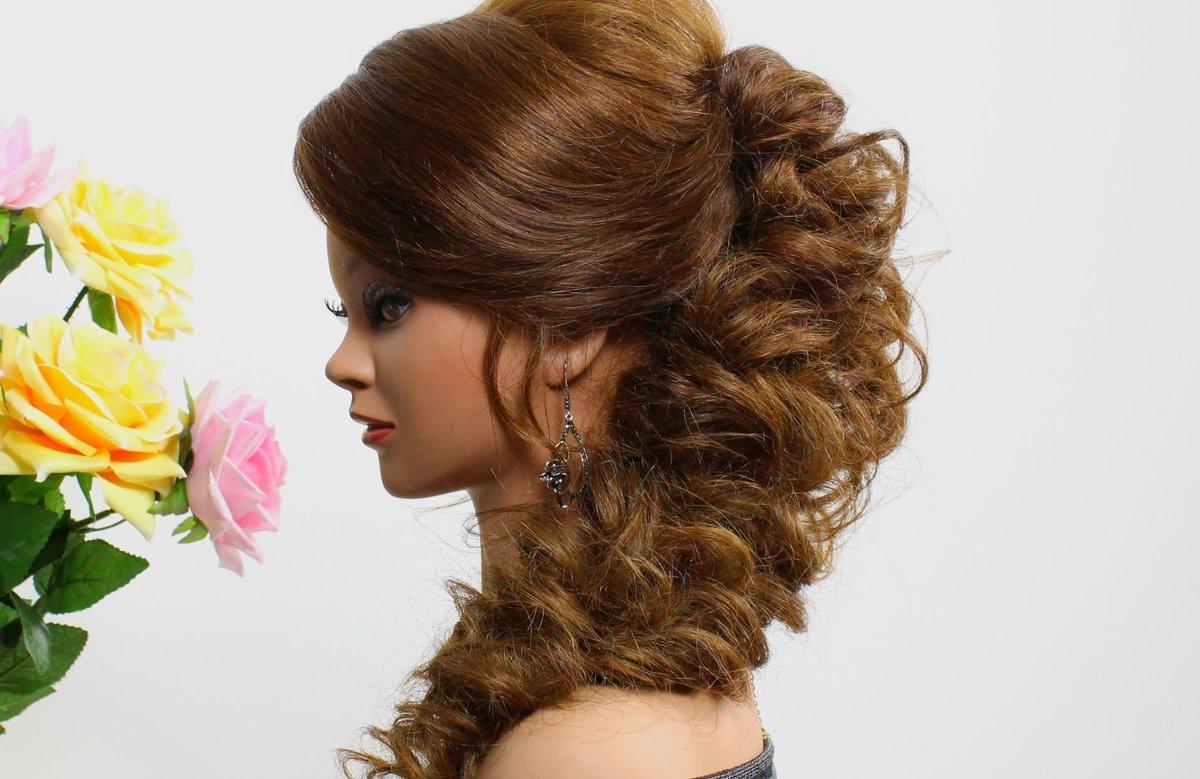 Прически на длинные волосы торжественная