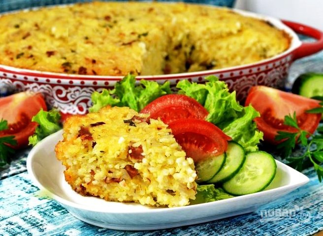 Что приготовить из риса с сыром