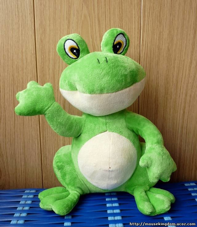 Мягкий игрушка лягушка своими руками