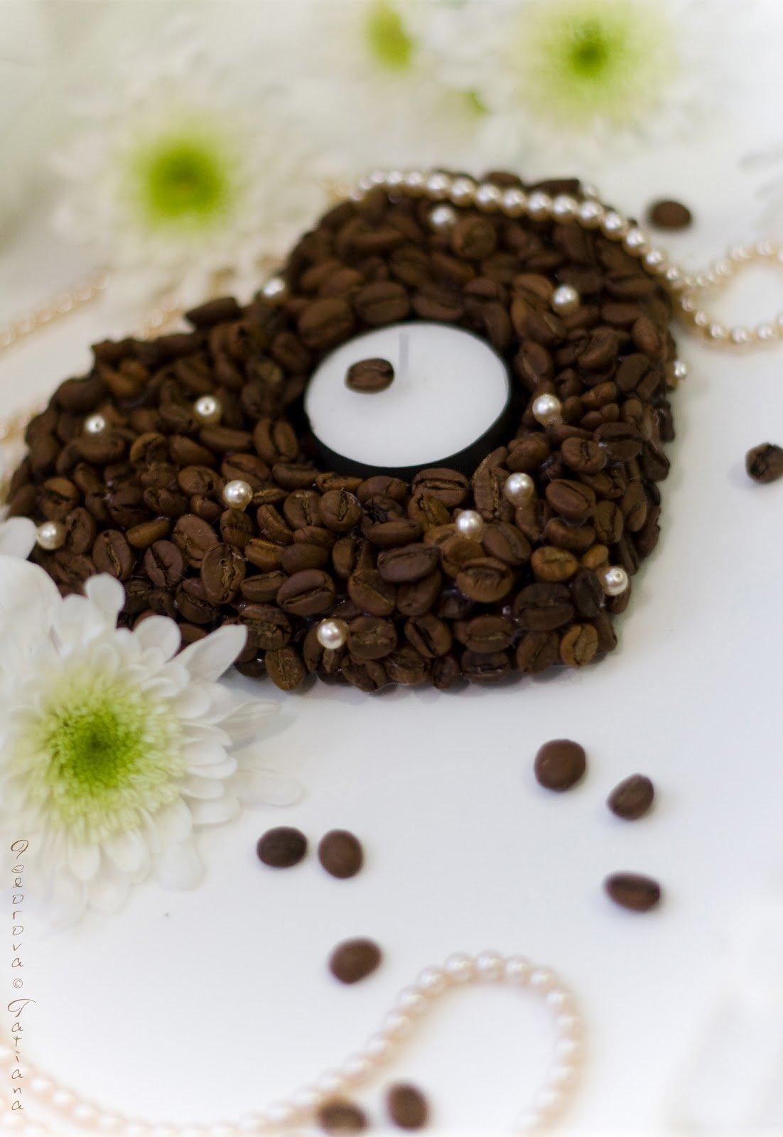 Бусы из кофейных зерен своими руками