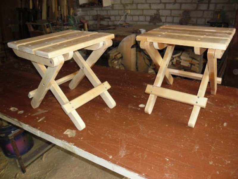 Изготовление табуретки из дерева своими руками видео