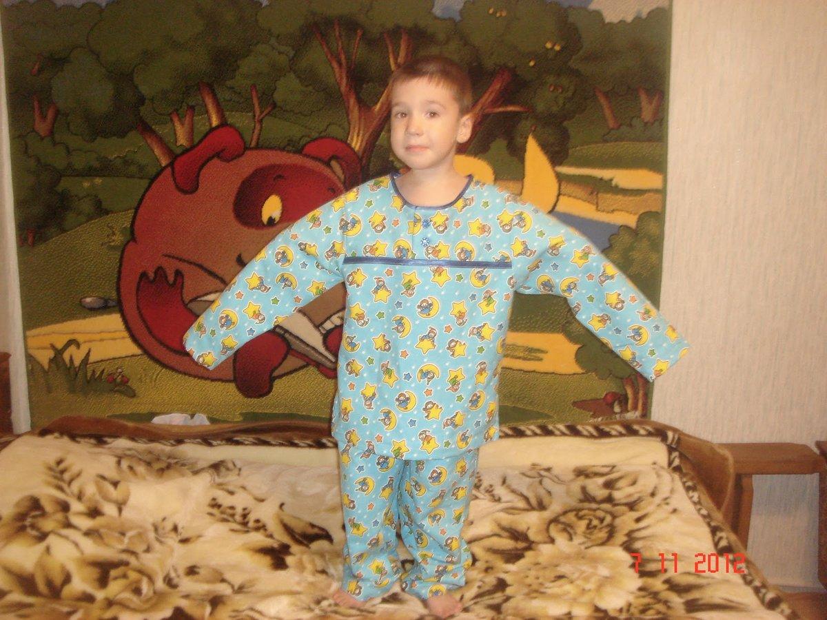 Сшить теплую пижаму своими руками