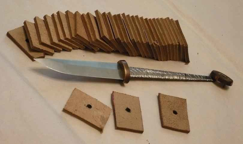 Ручка для ножа своими руками ютуб 69