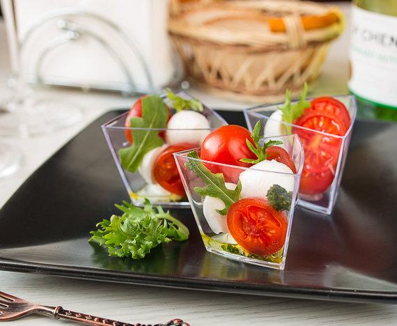 Фото салатов на фуршет