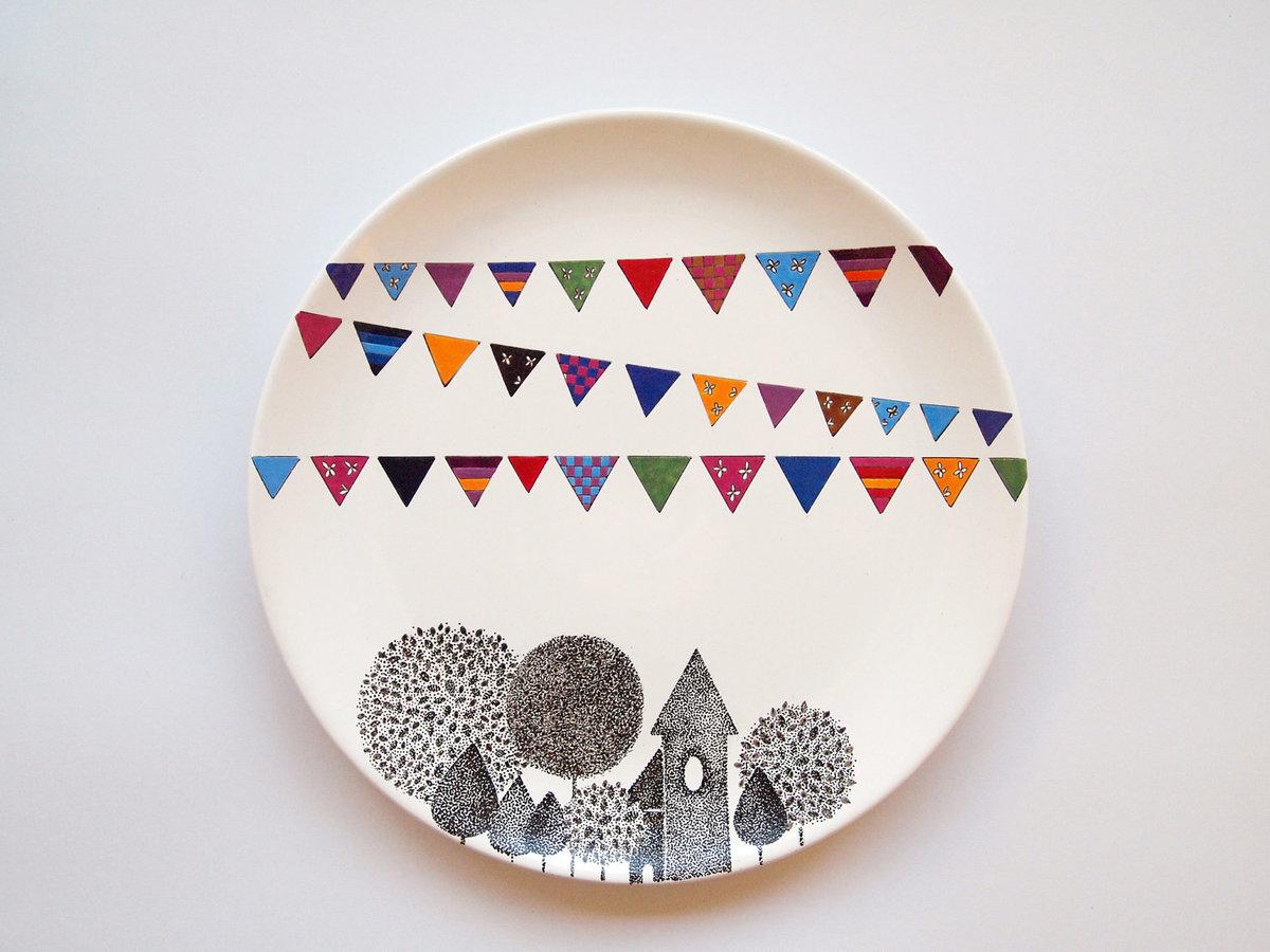 Декоративные тарелок своими руками