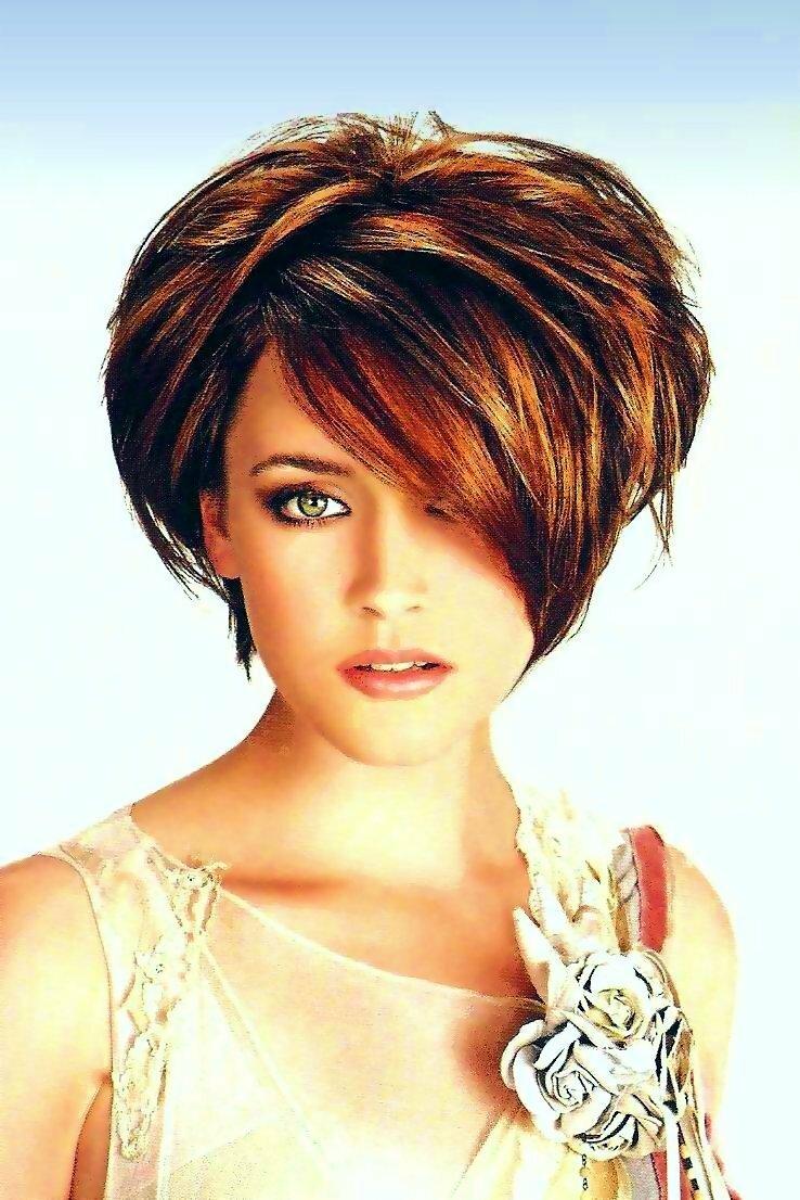 Красивые причёски на короткие волосы фото