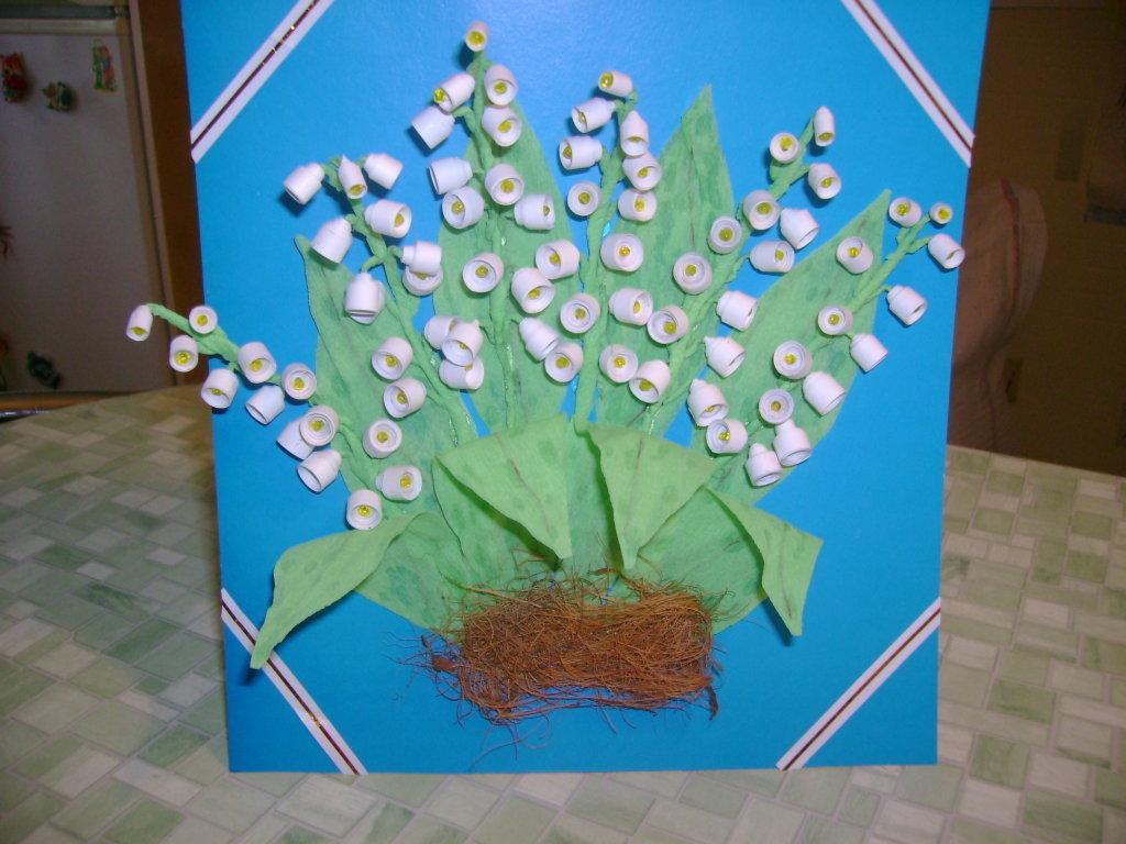 Весенние детские поделки в детском саду 234