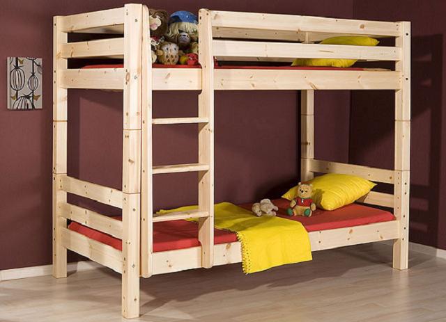 Фото двухъярусных кроватей своими руками из дерева