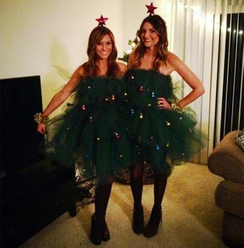 Платье для девушки на новый год своими руками