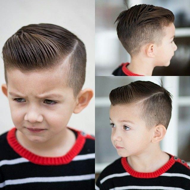 Как сделать причёски для мальчиков