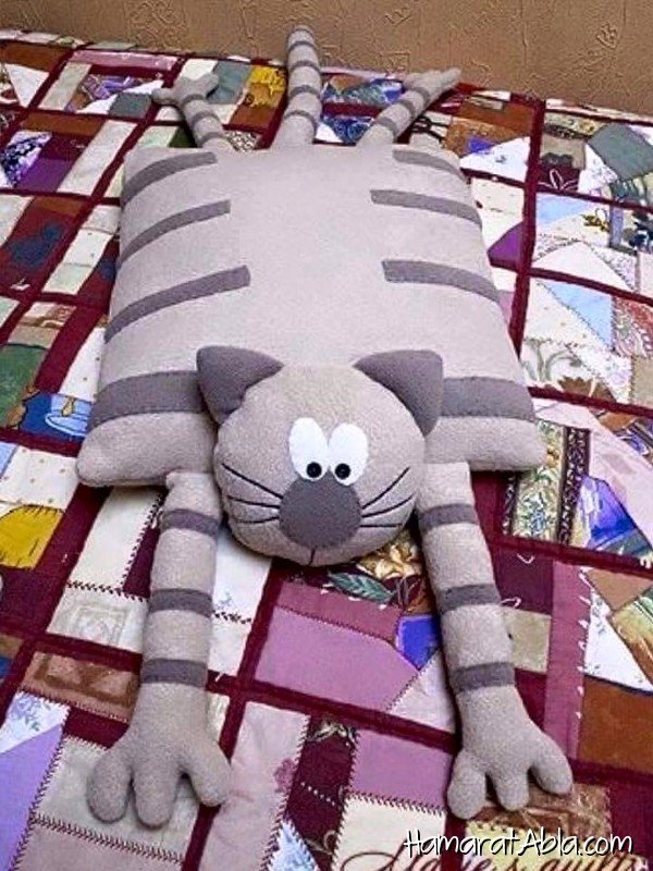 Сшить длинную подушку своими руками