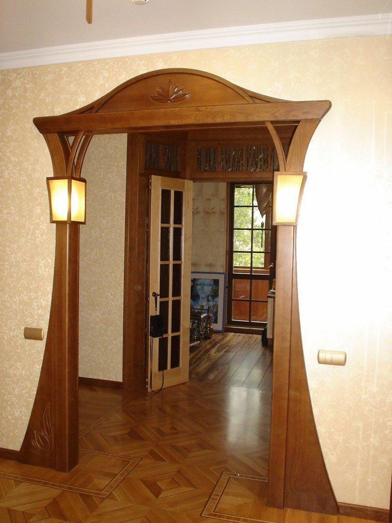 Вместо дверей арка