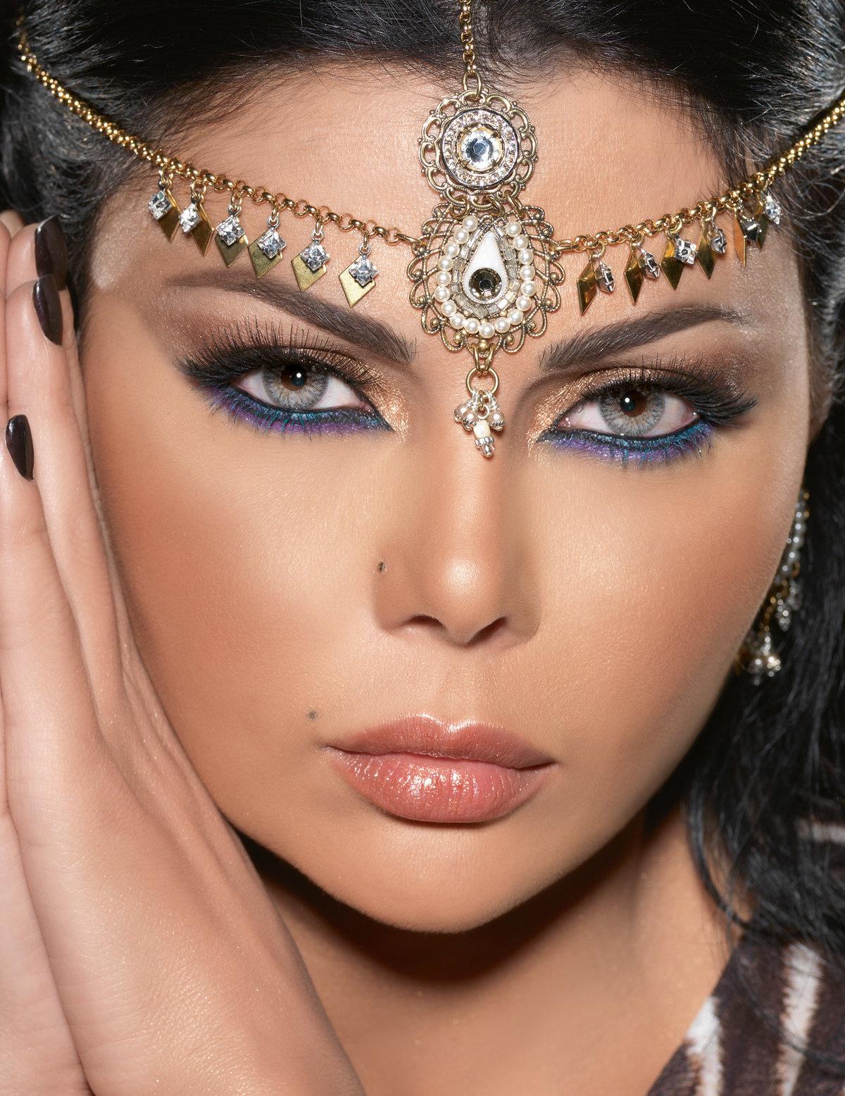Макияж для глаз в арабском стиле