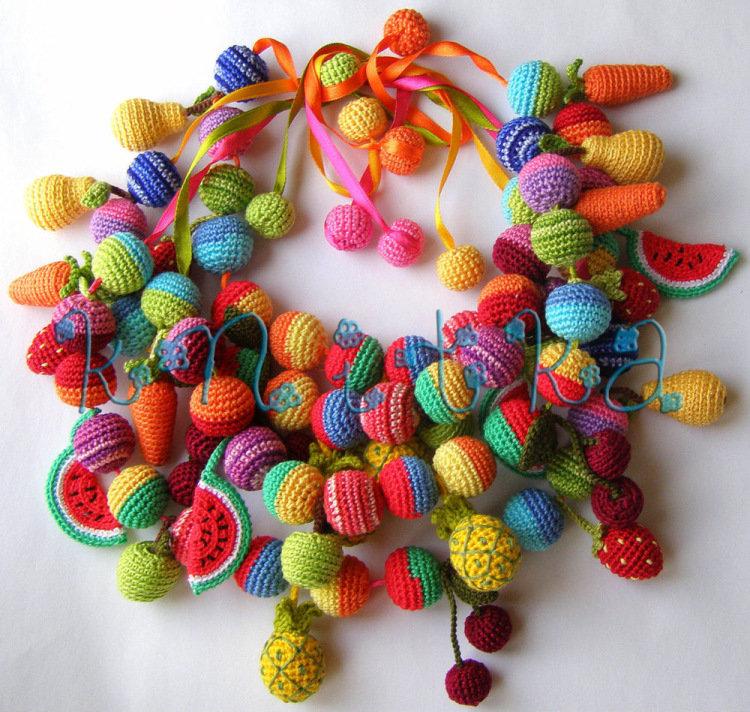 Пошаговое плетение барашка из бисера