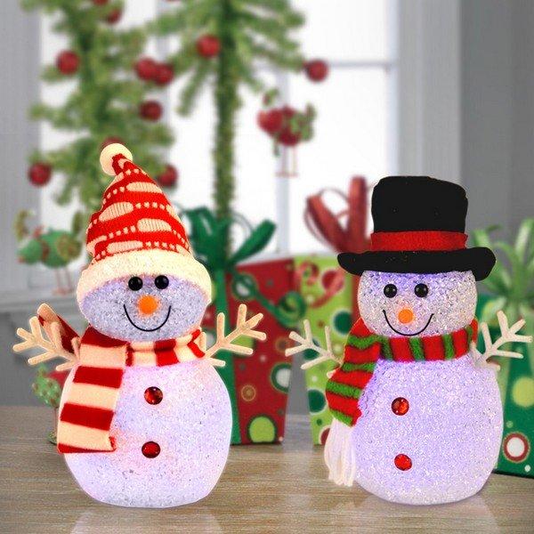 Украшение снеговика своими руками