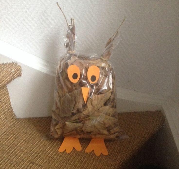Поделки сова для детского сада
