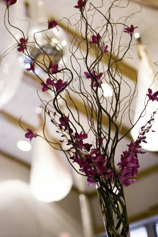 Как сделать декоративную ветку для напольной вазы