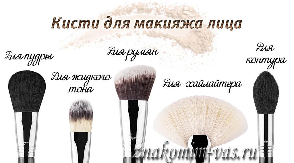 Набор для макияжа лица как пользоваться