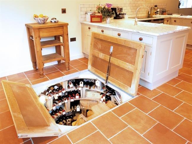 Как сделать подвал на кухне 294