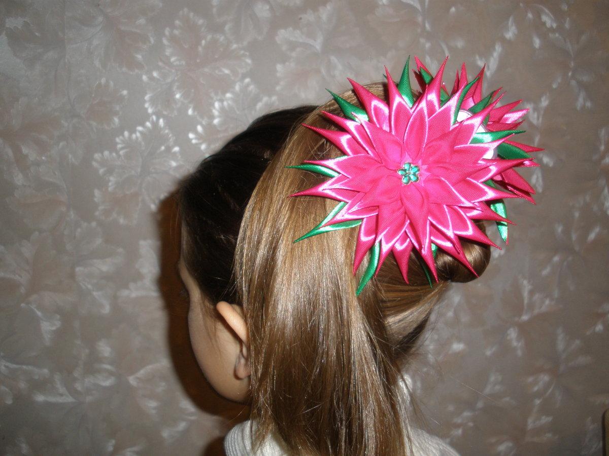 Как сделать заколку для волос своими руками из бусин