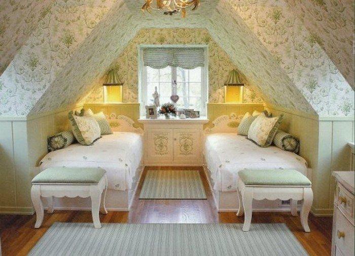 Дизайн комнат дачи