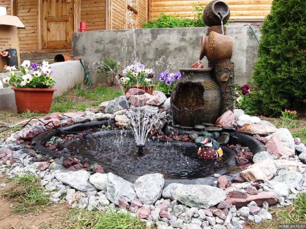 Для дома своими руками фонтанчик 3