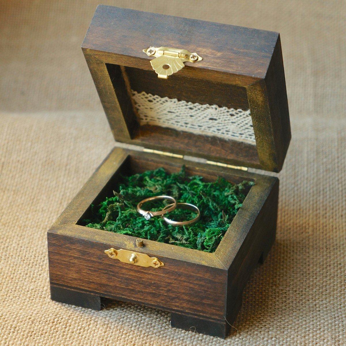 Необычная коробочка для кольца своими руками