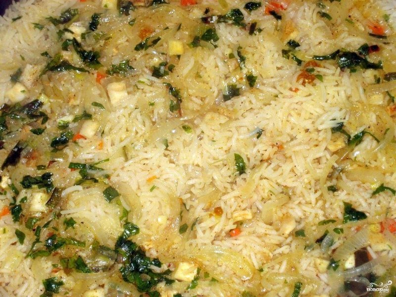 Рис с мясом пошаговый рецепт