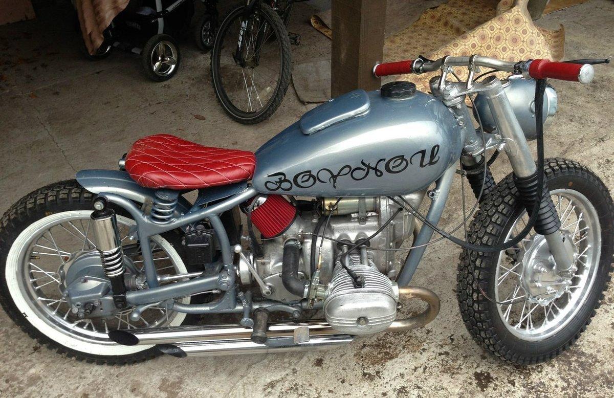 Moto032: Тюнинг мотоцикла минск 82