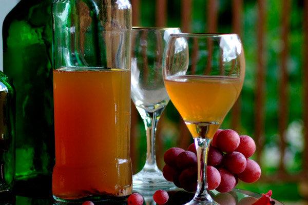 Виноградное вино рецепт один месяц