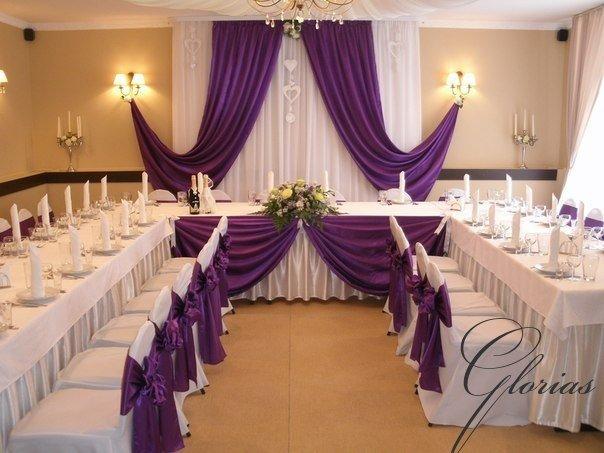 Фото дизайна зала для свадьбы