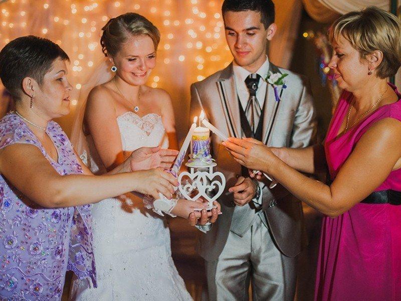 Свечи для очага на свадьбу
