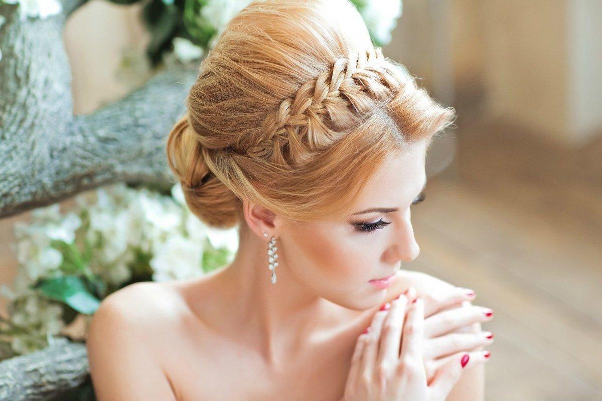 Красивые свадебные прически для каждого типа волос. 151 лучшее фото 1