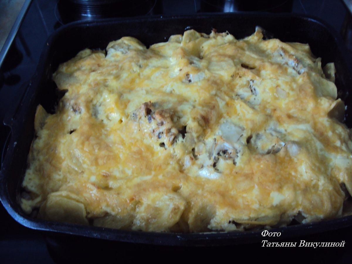 Рецепты с пошаговым фото рыба запеченная в картошке