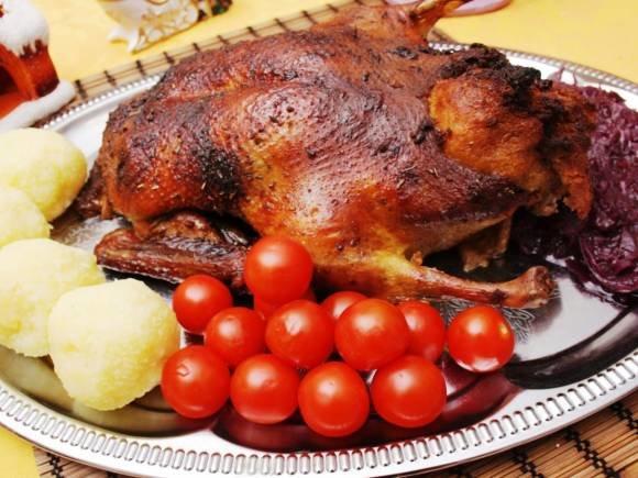 Рецепты второго блюда из утки