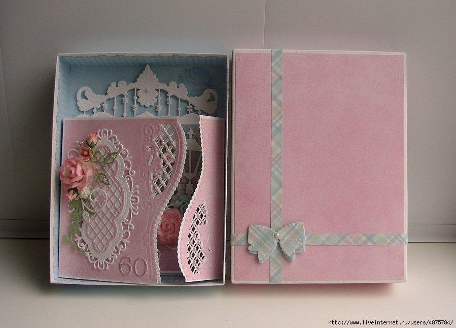 Скрапбукинг сложные открытки 60