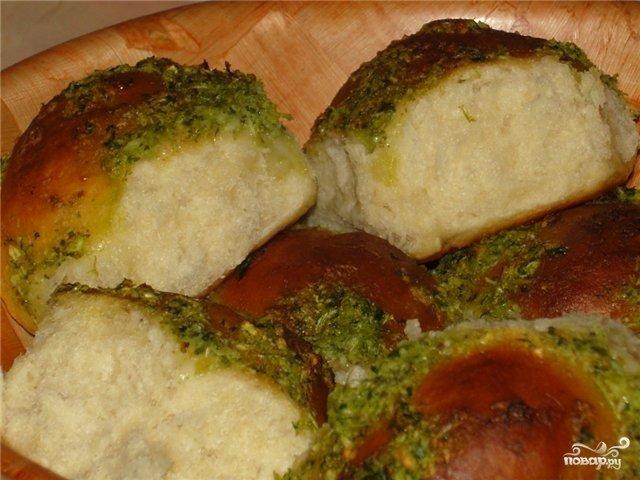 Пампушки с чесноком быстрые рецепт с пошагово в