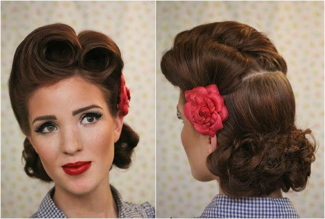 Прически в стиле стиляги на короткие волосы 150