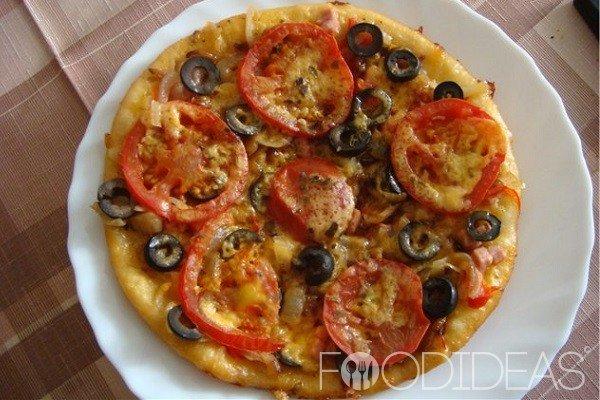 Пицца в мультиварке рецепты пошагово в